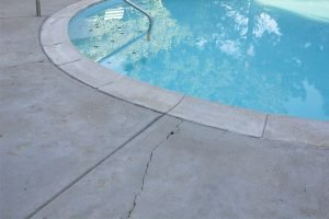 pool deck cracks