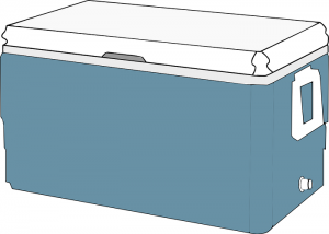 rotmolded cooler